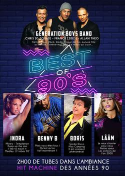 Tournée BEST OF 90