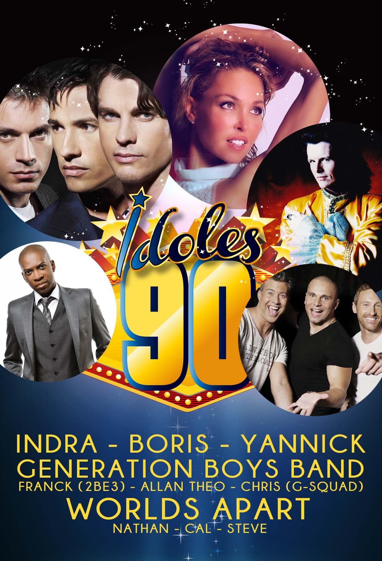 Idoles 90 - 21x30 Showparade Prod 2020