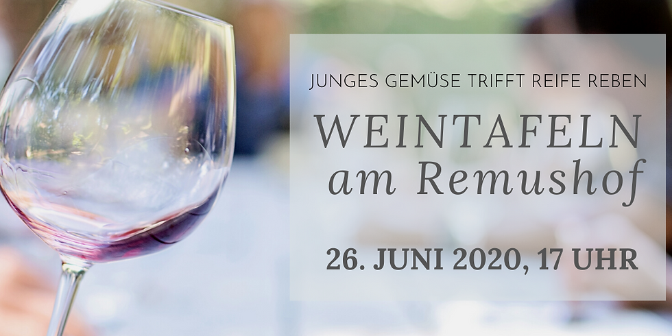 Weintafeln am Remushof!