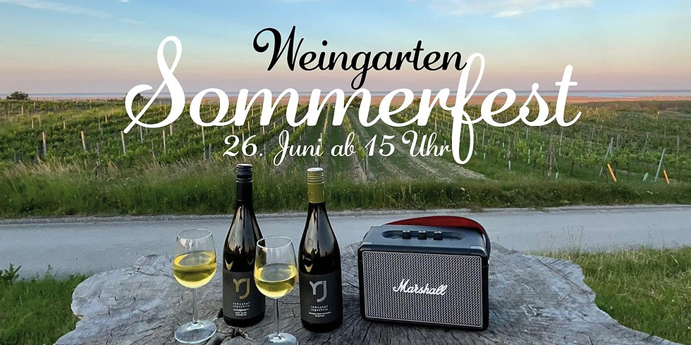 Sommerfest im Weingarten