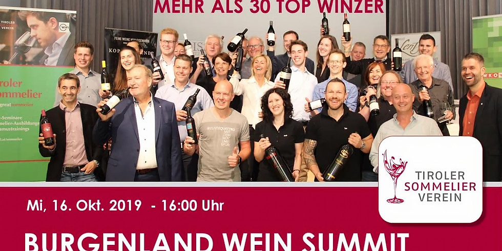 Wein Burgenland Präsentation Innsbruck