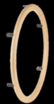 Holzgreifringe für Rollstuhl