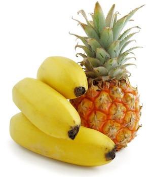 The Yoga of Eating Pineapples & Bananas