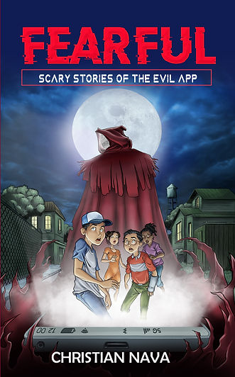 FEARFUL: Scary Stories of the Evil App Book