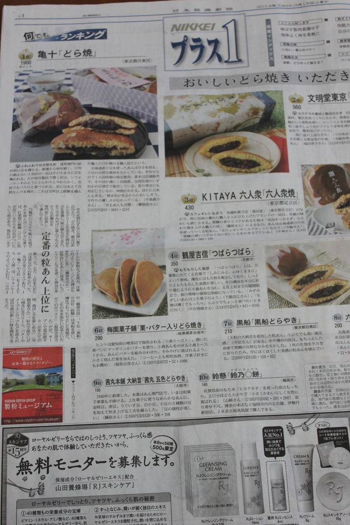 日本経済新聞 日経プラス1