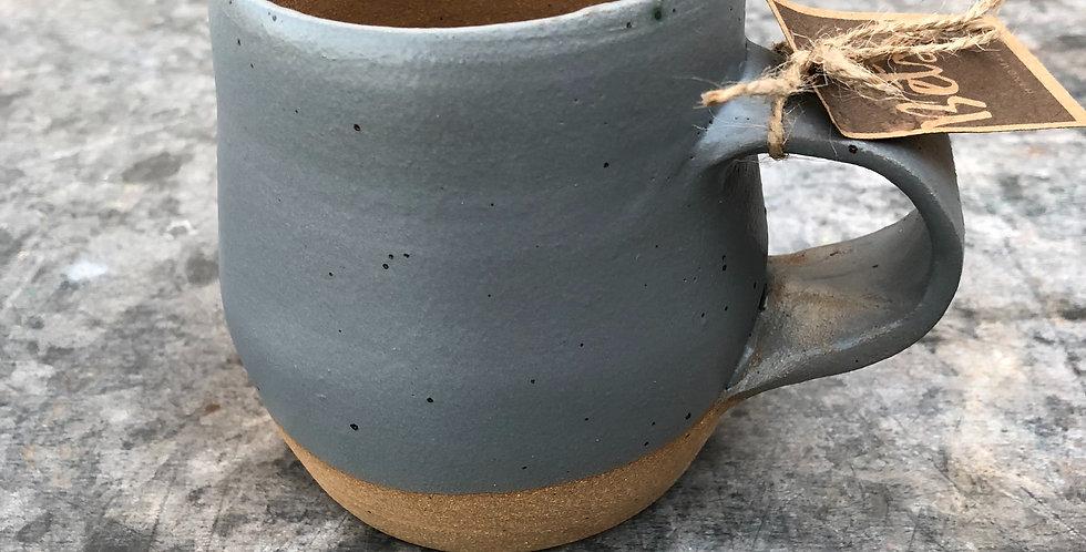 Pottery Mug, Gray Matte