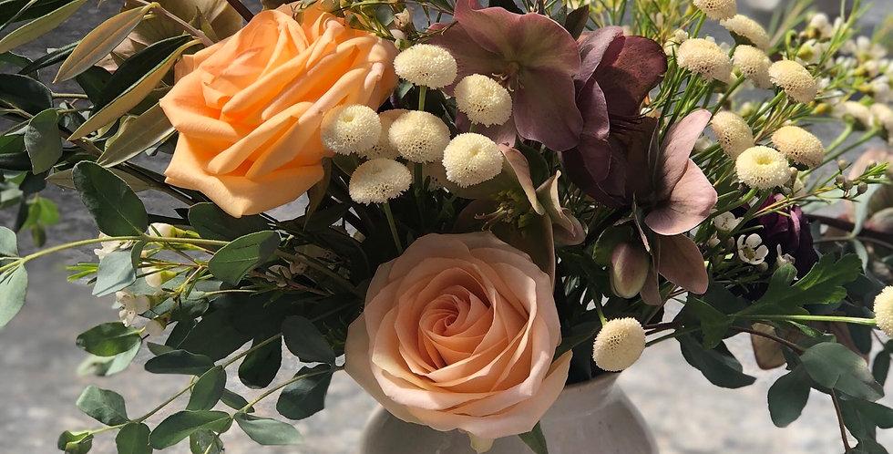Curvy Vase Arrangement