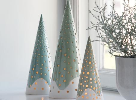 Christmas Ceramics: Hand-building Pottery Ideas