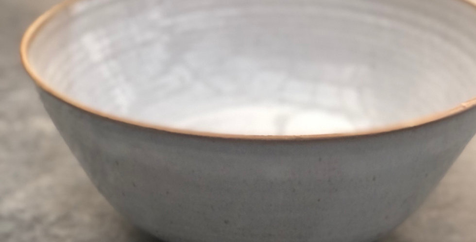 Pottery Bowl Large, White