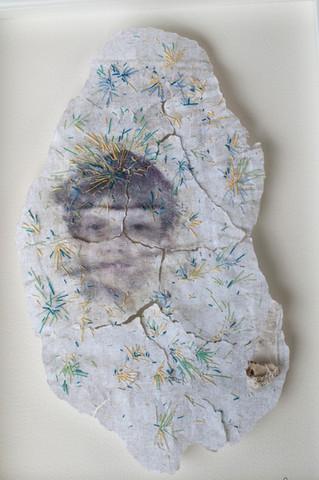 Embroidered Portrait (Joffy), 2017 (detail)
