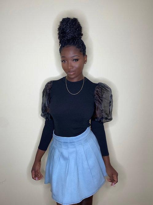School Girl Denim Skirt