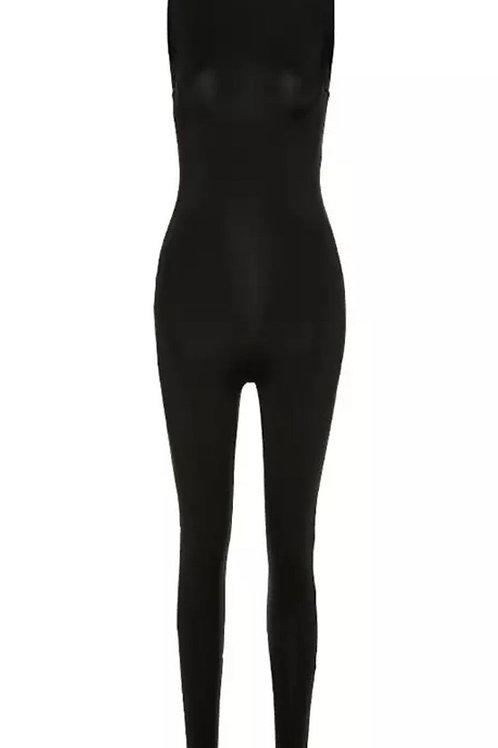 Sleeveless basic jumpsuit