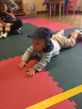 By weekly blog from the Infants and Toddlers