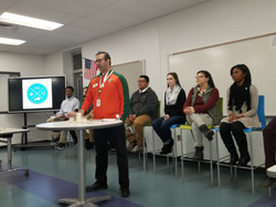 Pricipal Diaz Encourages JAG Officers