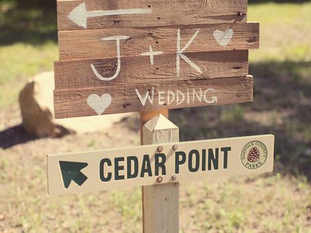 A Camping Wedding