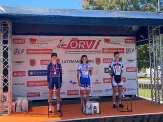 Staatsmeistertitel für Katharina - Platz 4 für Johannes. Wurm in den Top 10
