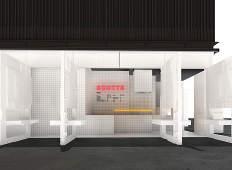 PROJECT UPDATE // Scotts Concept store is nearing completion.