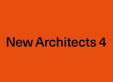 AWARDS // NEW ARCHITECTS 4