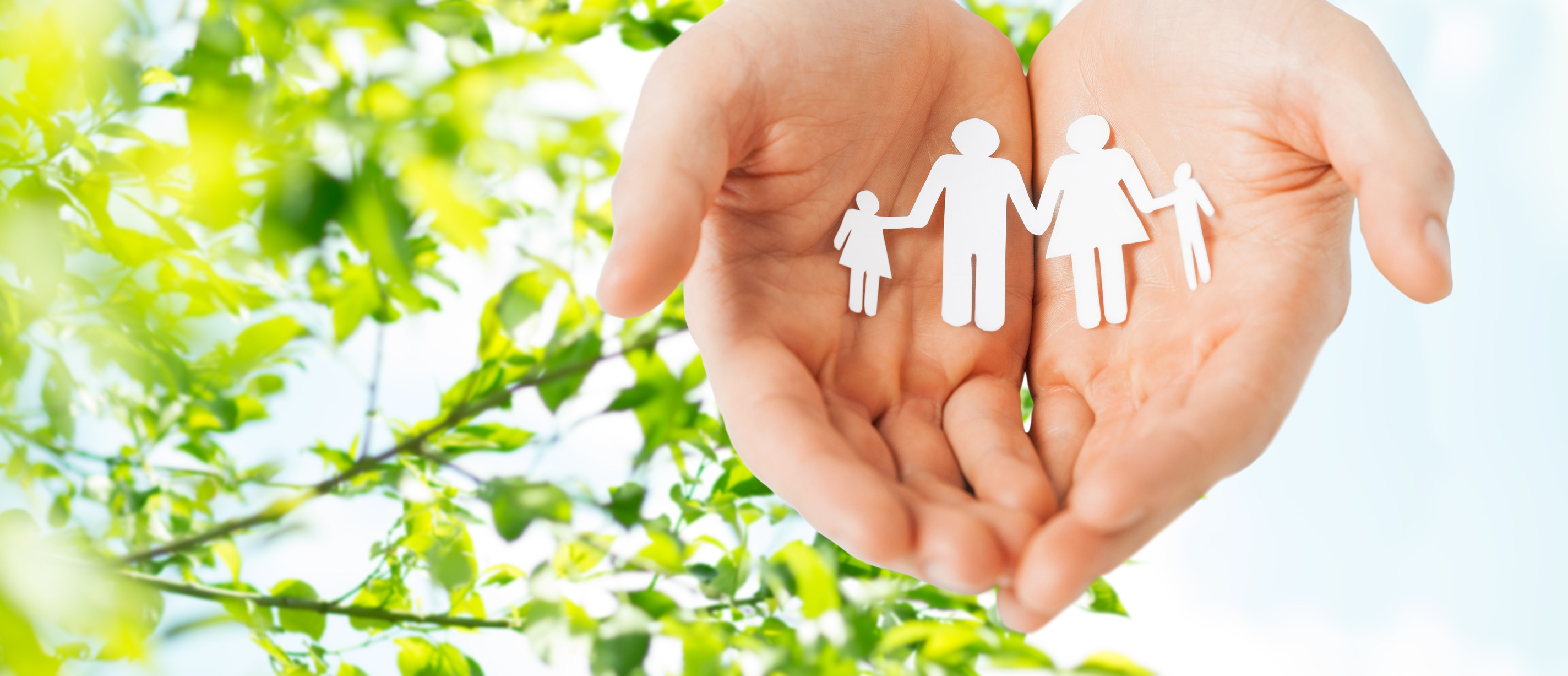 Family in Caring Hands