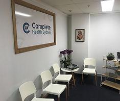 Chiropractor Sydney CBD Reception