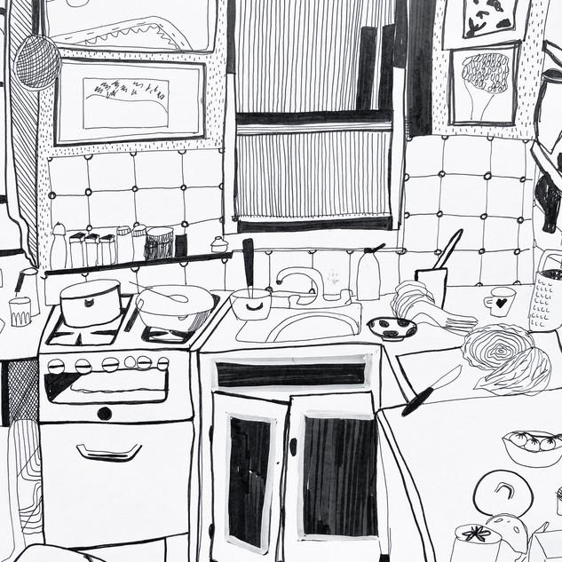 Ixta's Aunt's Kitchen, 2020