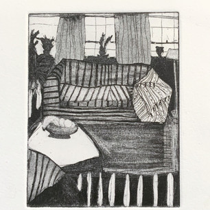 Etching with aquatint on paper