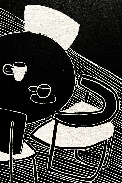 'Atypical' Limited Edition Linocut on Paper