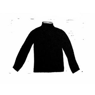 Essential black polo neck