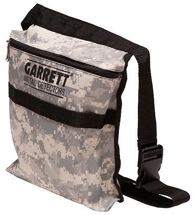 Garrett camo finds bag