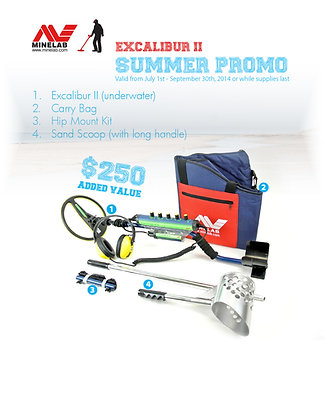 SUMMER PROMO EXCALIBUR 2 (tons of extras)