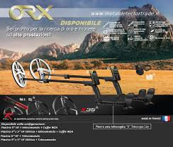 """XP ORX WIRELESS DETECTOR WITH 9.5"""" ELLIPTICAL OR 9"""" ROUND HF COIL"""