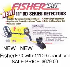 "Fisher F70 w/ 11"" coil"