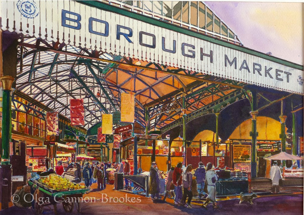 Borough Market in late autumn