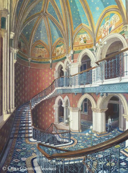 Grand Staircase, St Pancras Hotel