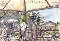Harmony Hall Cafe, Antigua