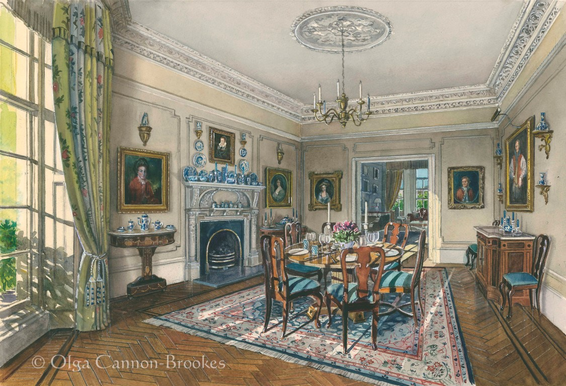 A Dining Room in Holland Park