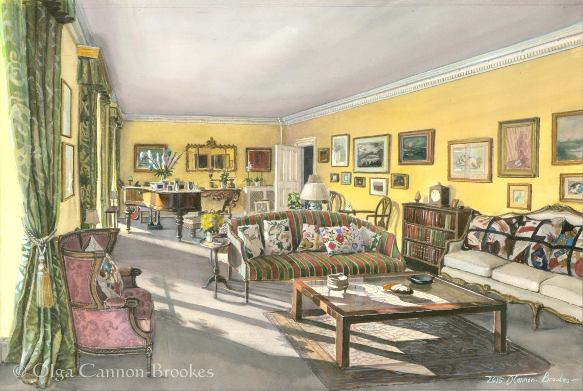 The Yellow Drawing Room, Norfolk