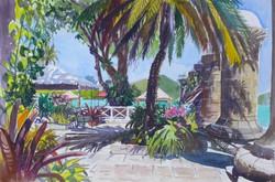 At the Admiral's Inn, Antigua