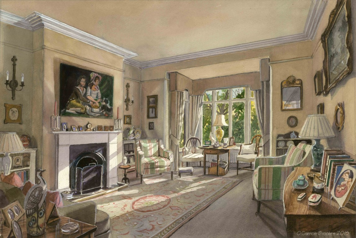 A Drawing Room, Richmond
