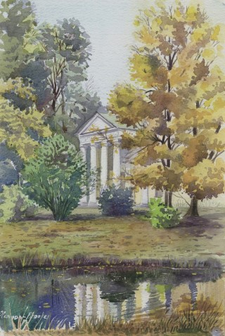 Pavlovsk, autumn