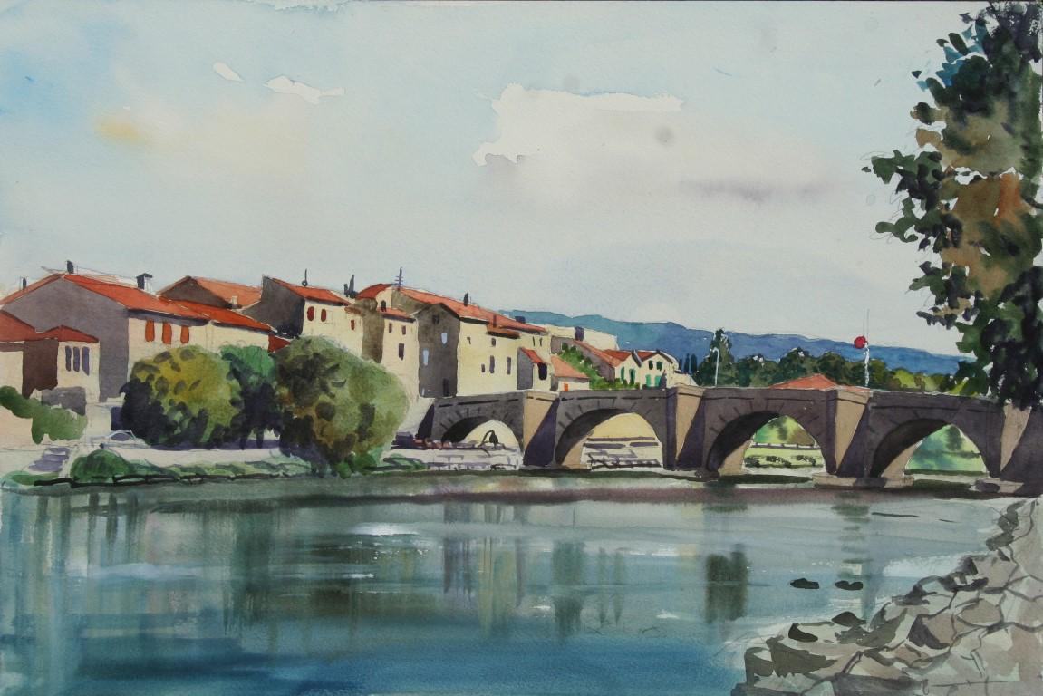 Limoux Bridge, France