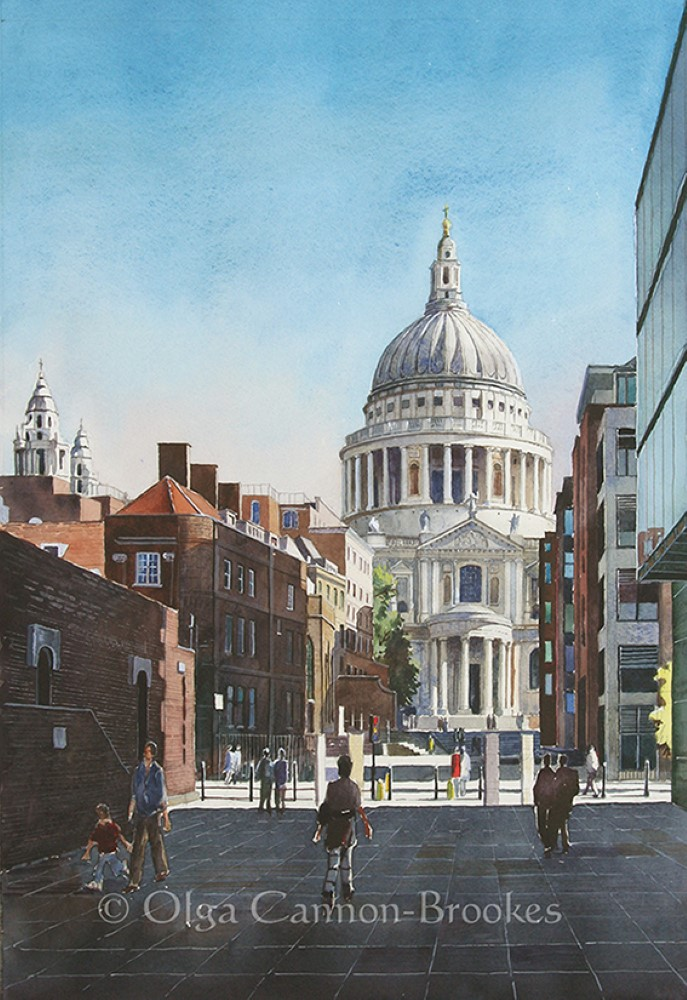 St.Paul's Cathedral from the South