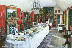 The Red Dining Room