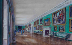 Osterley House. The Long Gallery