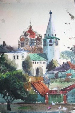 The Main Cathedral, Suzdal