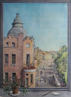 St Petersburg from my window