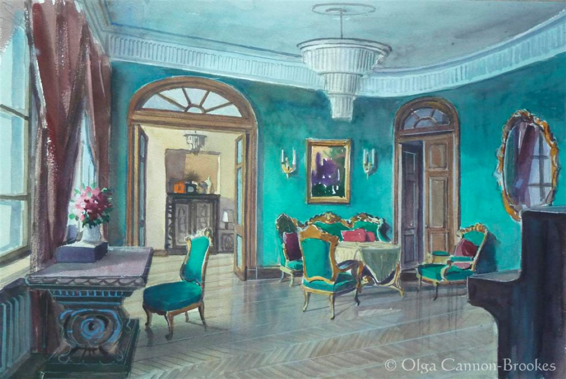 The Salon, St Petersburg