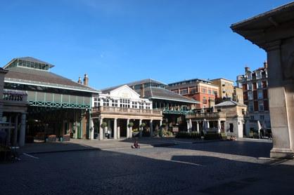 Entrance to Covent Gaden Market