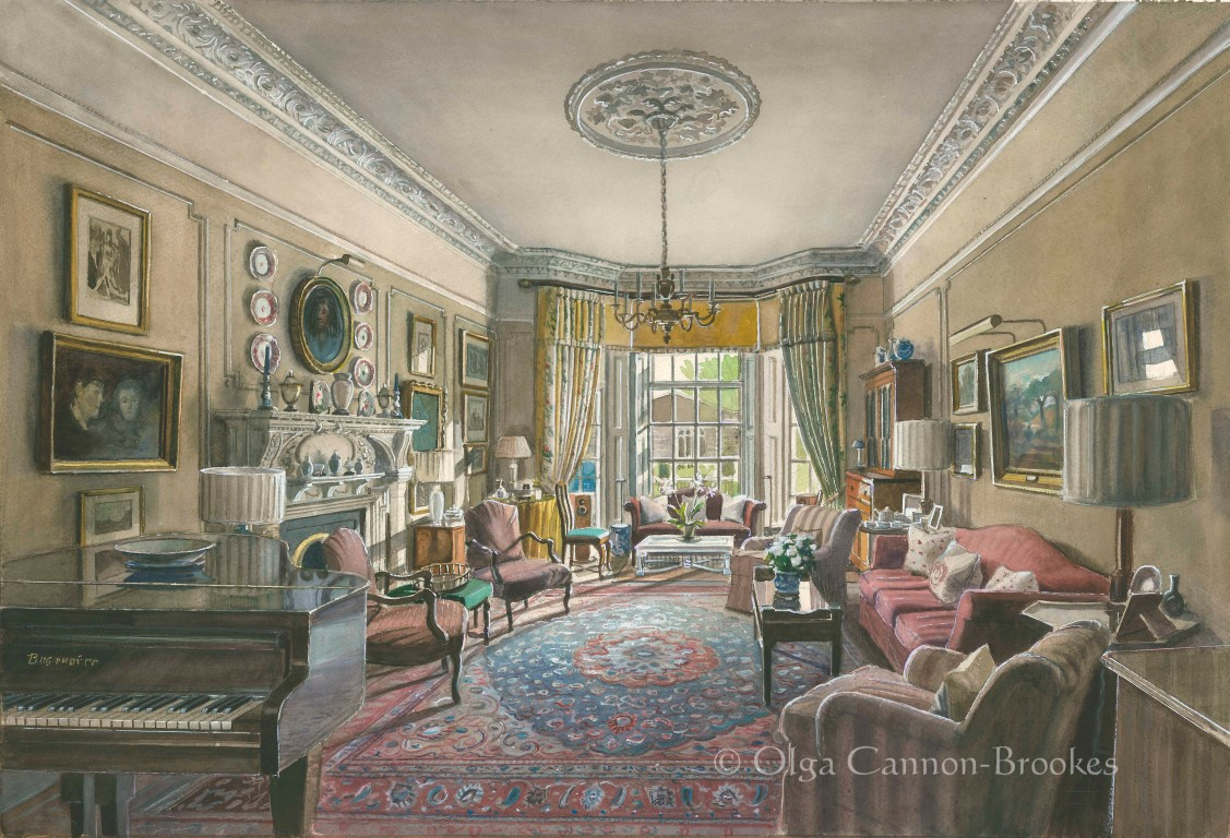 A Drawing Room, Holland Park