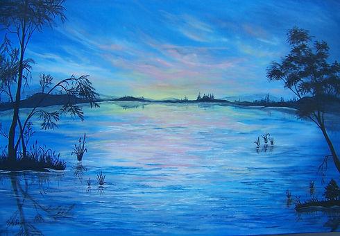 Sunset on the Lake 2.JPG